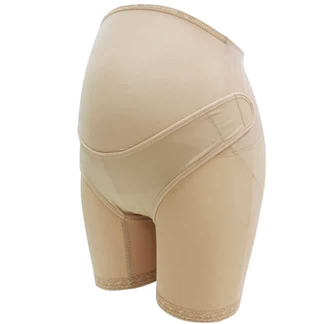 【Gennies 奇妮】2件組*活動式棉質產前長筒托腹褲